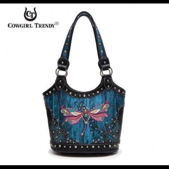 Blue Heaven Bags | Dragonfly Bag Blue Black
